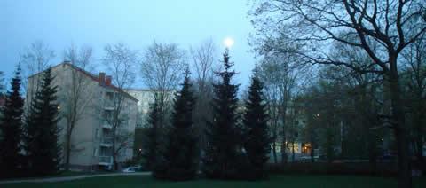 noches que son dia en Finlandia