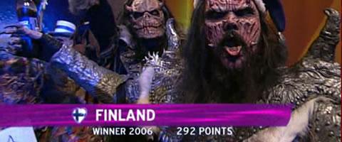 Lordi triunfó en Eurovision 2006