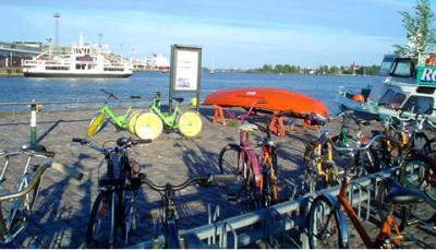 Turisteando en bicicleta