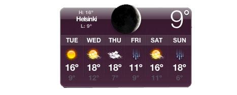 Temperatura de esta semana