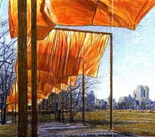 "Christo and Jeanne -Claude ""The Gates"""
