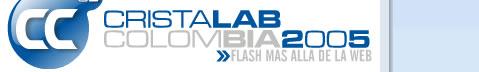 Cristalab Colombia 2005 :: Flash mas alla de la web