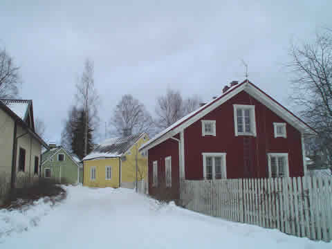 casas clasicas de Finlandia