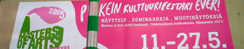 masters of arts 2005 Helsinki